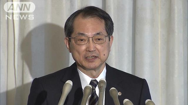 最高裁長官就任 大谷氏「より信頼される裁判所に」[2018/01/10 08:02]