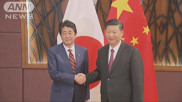 安倍総理の訪中10月23日軸に 友好条約40年の節目