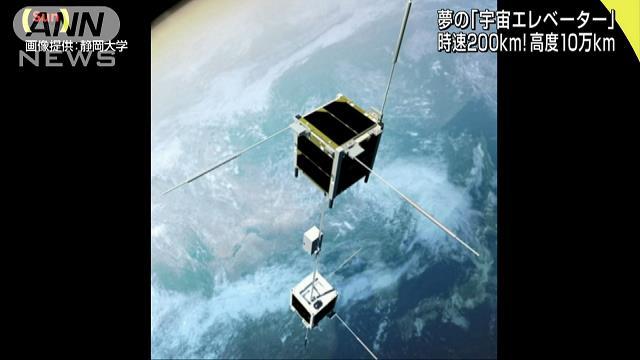 夢の宇宙エレベーター 超小型衛星で世界初の実験へ