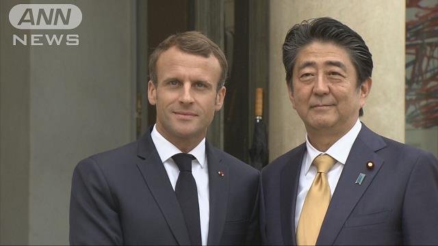 日仏会談で反保護主義 力による現状変更にも反対