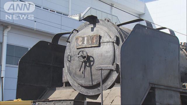 1947年製のC11型蒸気機関車 東武鉄道が復元めざす