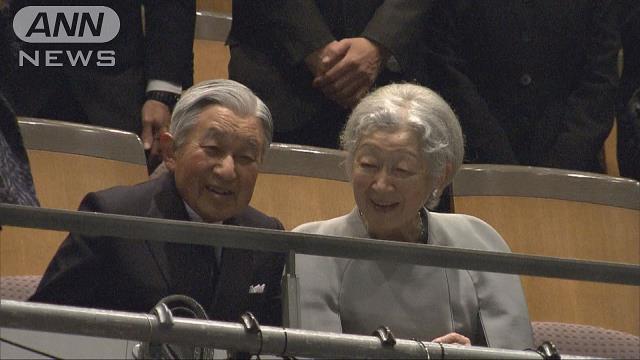 両陛下 フラメンコ版「曽根崎心中」を鑑賞