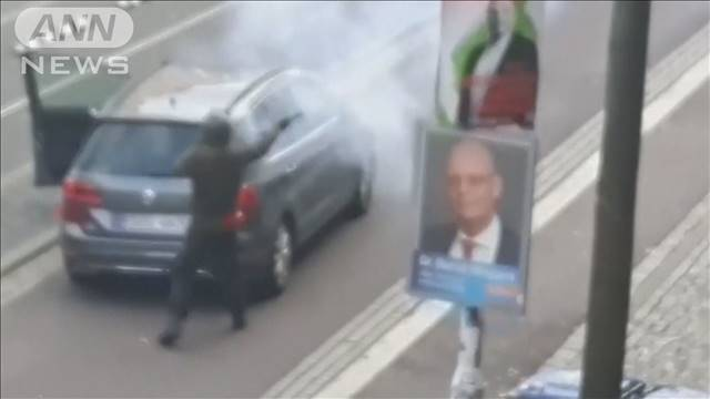 ユダヤ教施設の前で銃乱射 2人死亡 ドイツ