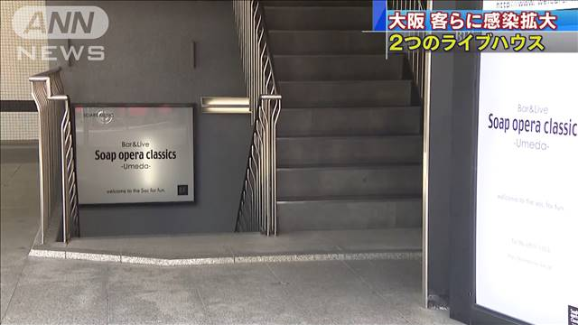ウィルス 大阪 コロナ ライブ ハウス