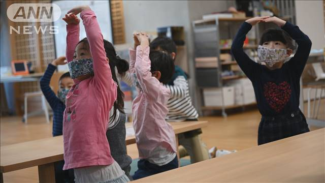 オンライン授業でマスク作り 学校再開に備え指導