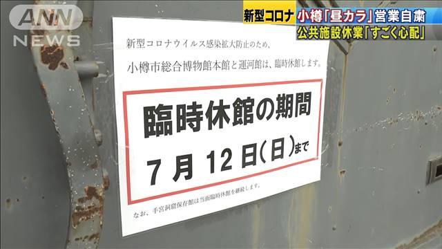 コロナ 小樽 市 直近1週間、小樽市内88人感染 10万人当たり、大阪府上回る(北海道新聞)