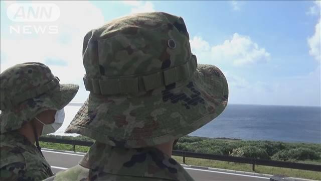 """尖閣から150Km 日本最西端で監視""""現代の防人"""""""
