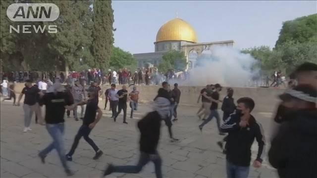 エルサレムで衝突 300人以上負傷