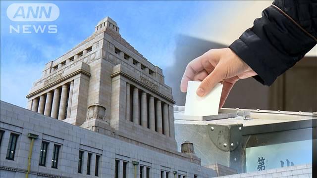 ANN世論調査 衆院選6割「必ず投票」内閣支持43.4% 2021年10月18日(月)
